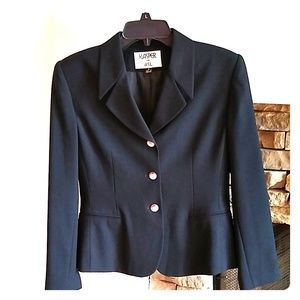 Kasper for ASL black blazer jacket 4